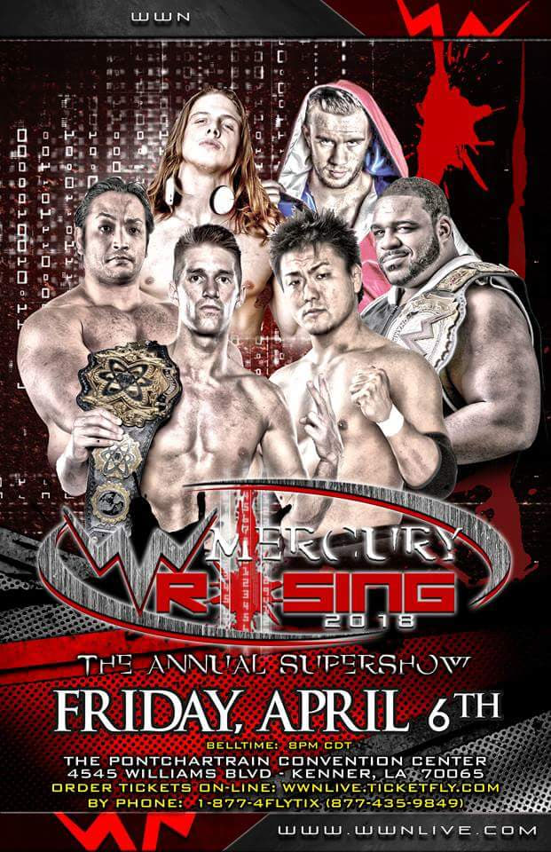 Ver WWN Supershow: Mercury Rising 2018 Online HD Español ()
