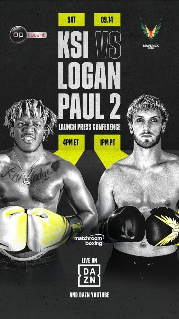 KSI vs. Logan Paul 2 (2019)