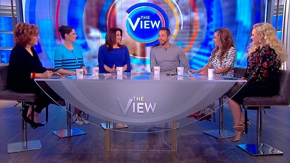 The View Season 22 :Episode 137  Zachary Levi and Kiernan Shipka