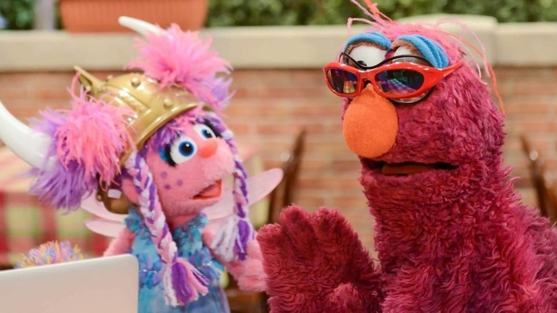 Sesame Street Season 45 :Episode 24  Abby Schools in Cool