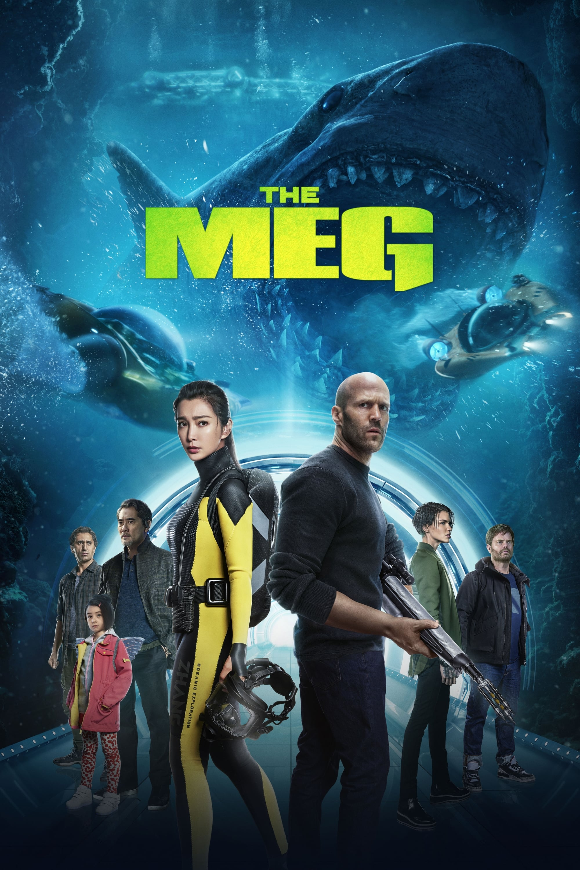 The Meg (2018) - Posters — The Movie Database (TMDb)
