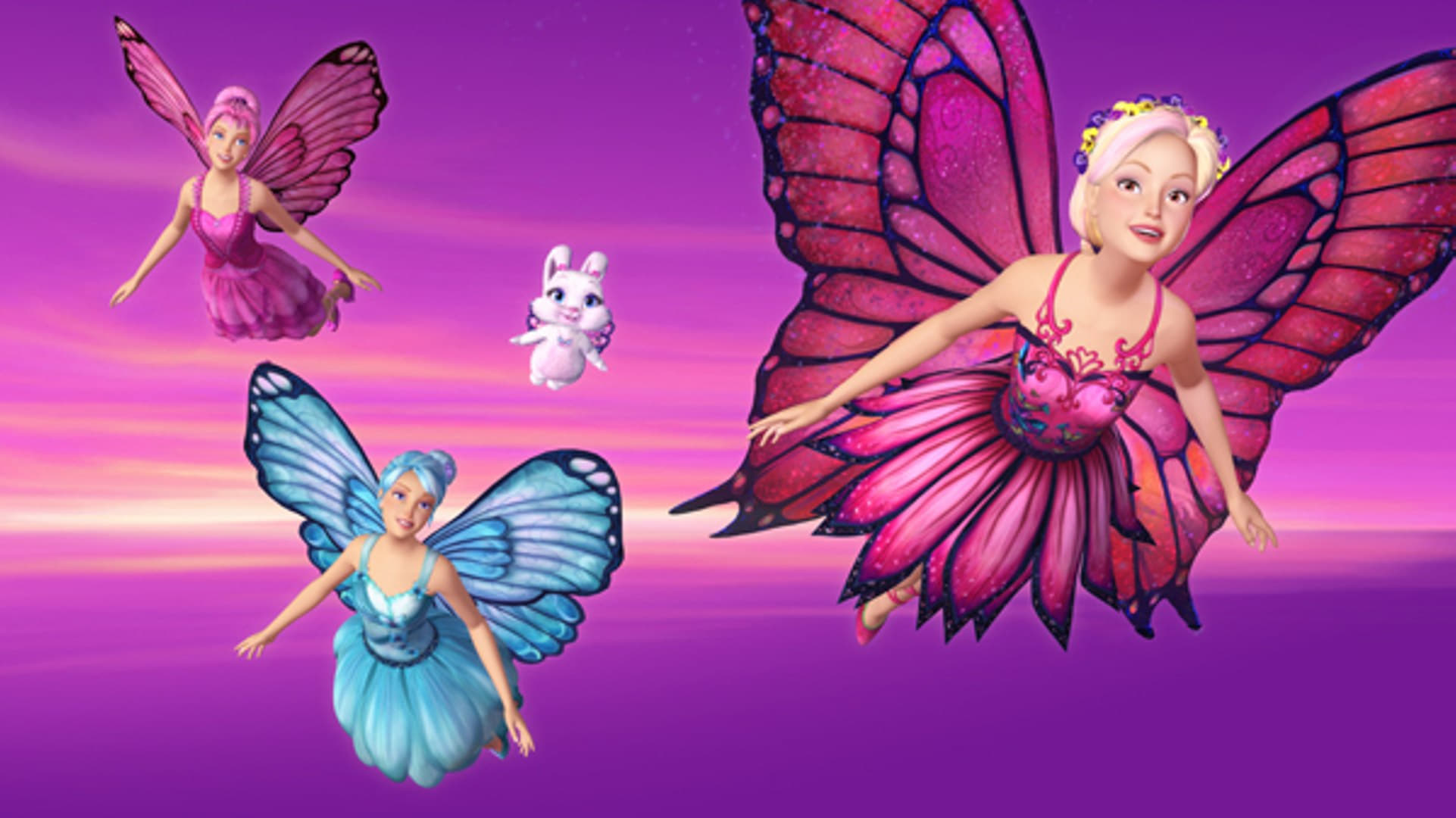 Barbie Mariposa And Her Butterfly Fairy Friends 2008