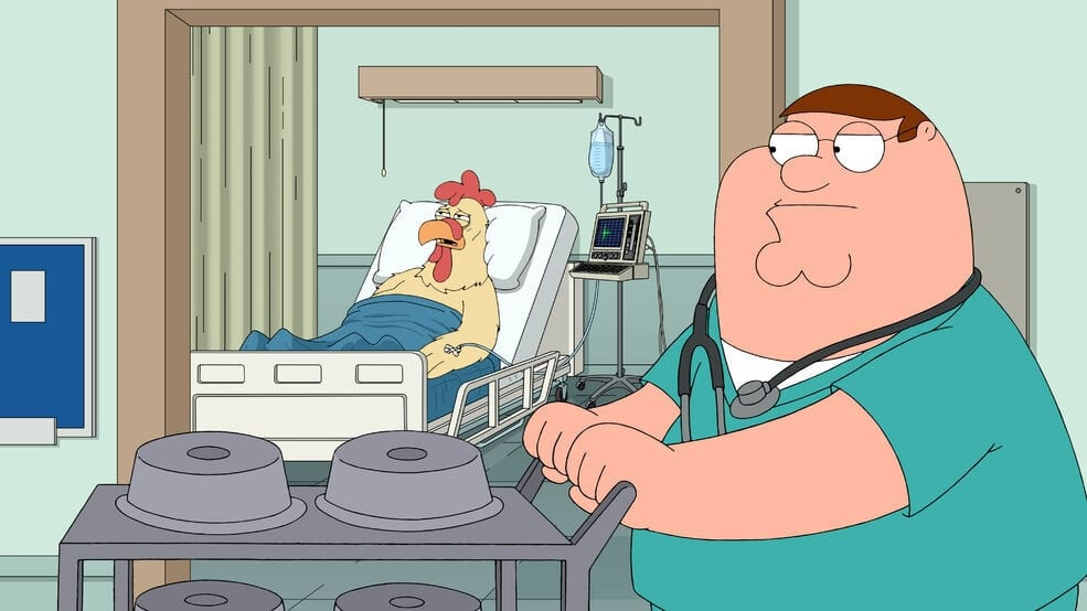 Family Guy Season 19 :Episode 10  Fecal Matters