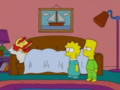 The Simpsons Season 17 :Episode 12  My Fair Laddy