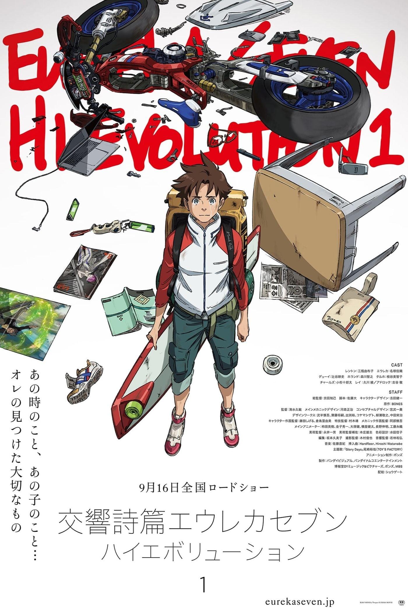 Koukyoushihen: Eureka Seven - Hi-Evolution 1 (2017)