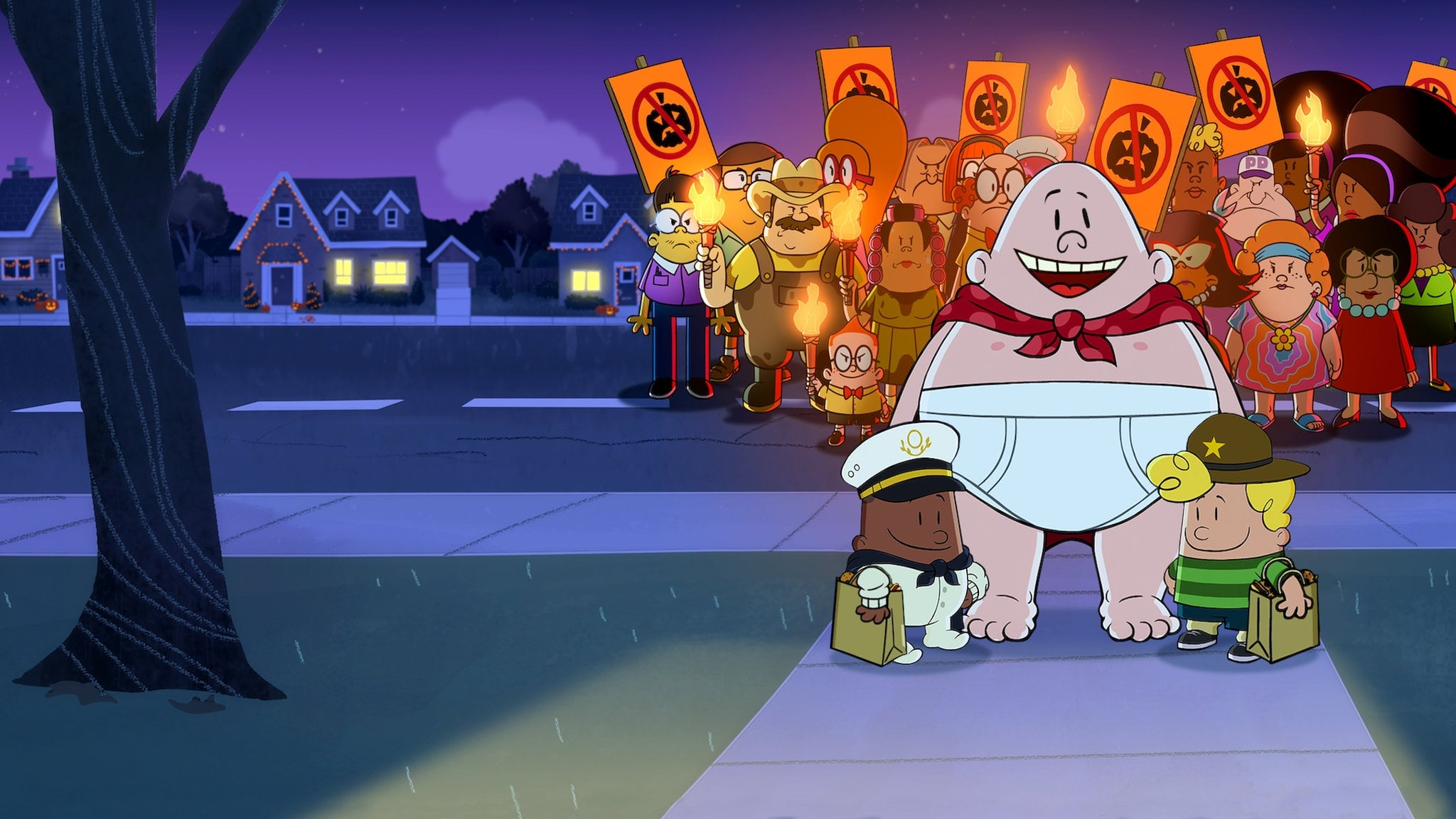 VER The Spooky Tale of Captain Underpants Hack-a-ween (2019) pelicula completa en español latino 720p