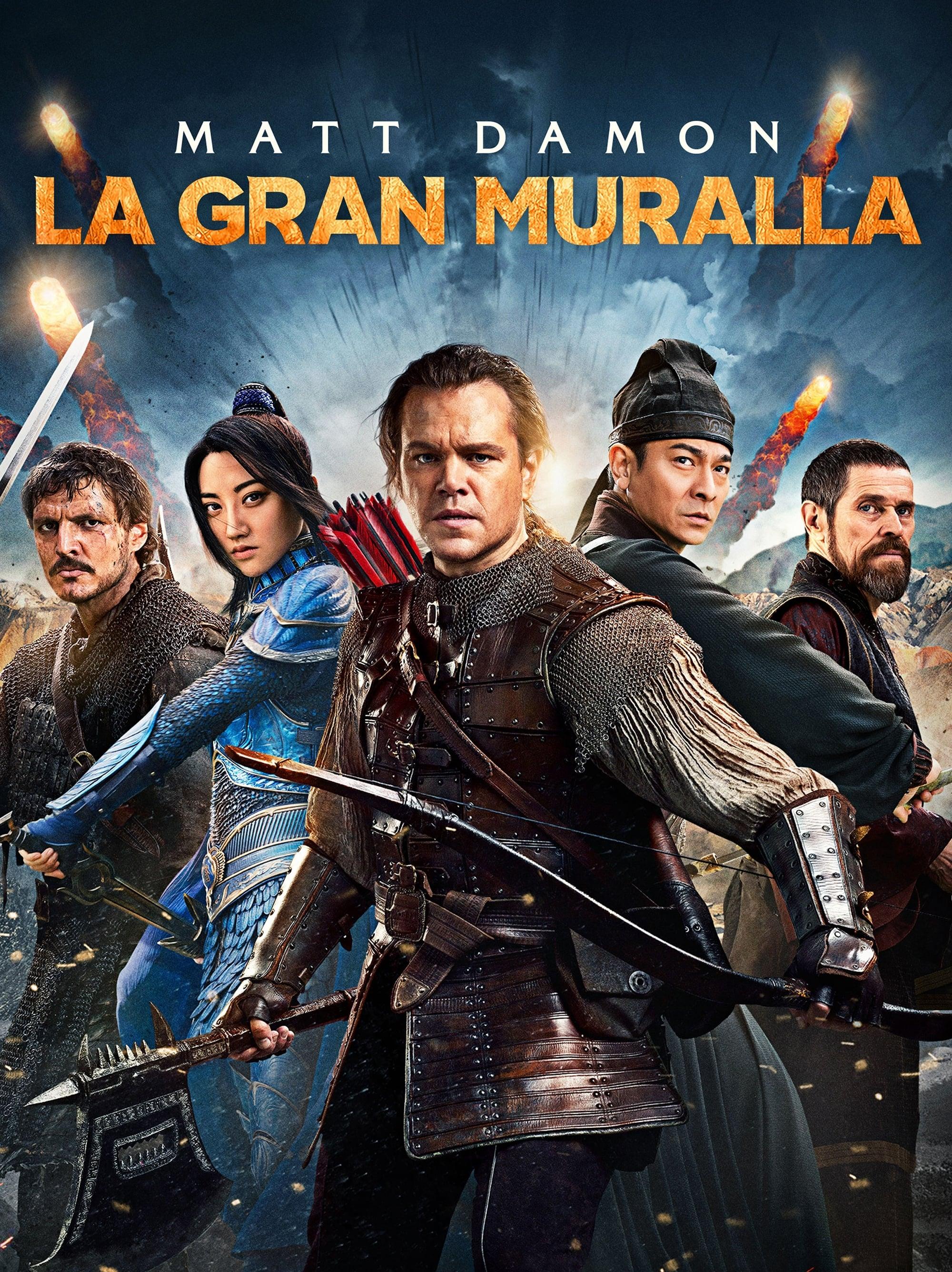 LA GRAN MURALLA (2016) HD 720P LATINO/INGLES