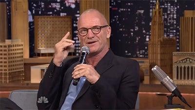 The Tonight Show Starring Jimmy Fallon Season 1 :Episode 147  Sting, Jason Schwartzman, a performance from The Last Ship