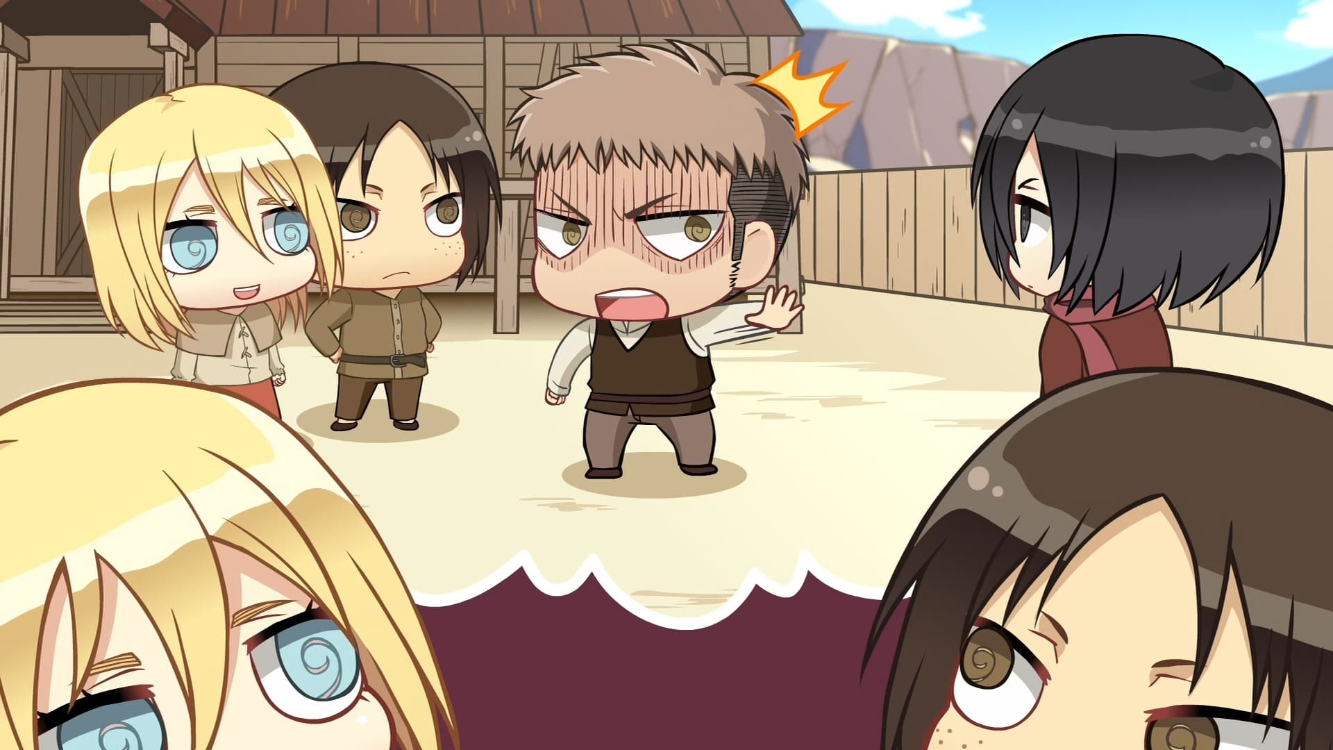 Attack on Titan Season 0 :Episode 8  Chibi Theatre: Fly, Cadets, Fly!: Day 8 / Day 9 / Day 10