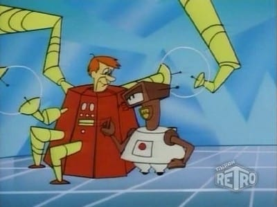 The Jetsons Season 2 :Episode 35  Grandpa and the Galactic Gold Digger