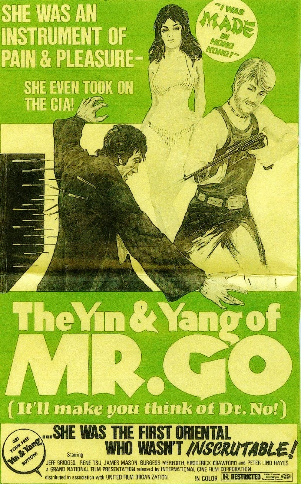 The Yin and the Yang of Mr. Go (1970)