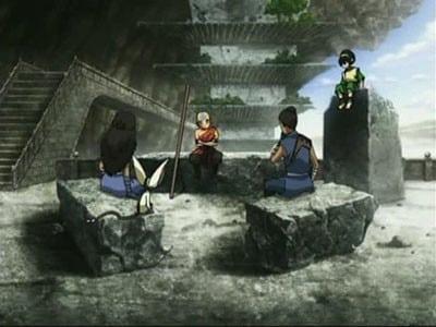 Avatar - Der Herr der Elemente Season 3 :Episode 12  Der westliche Lufttempel