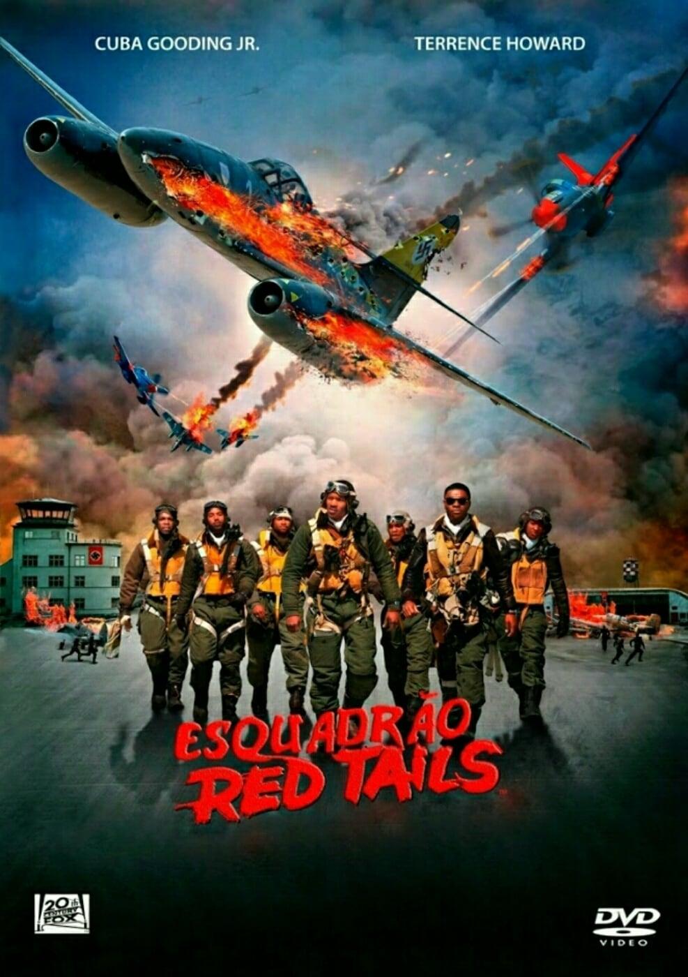 Baixar Esquadrão Red Tails Dublado via Torrent