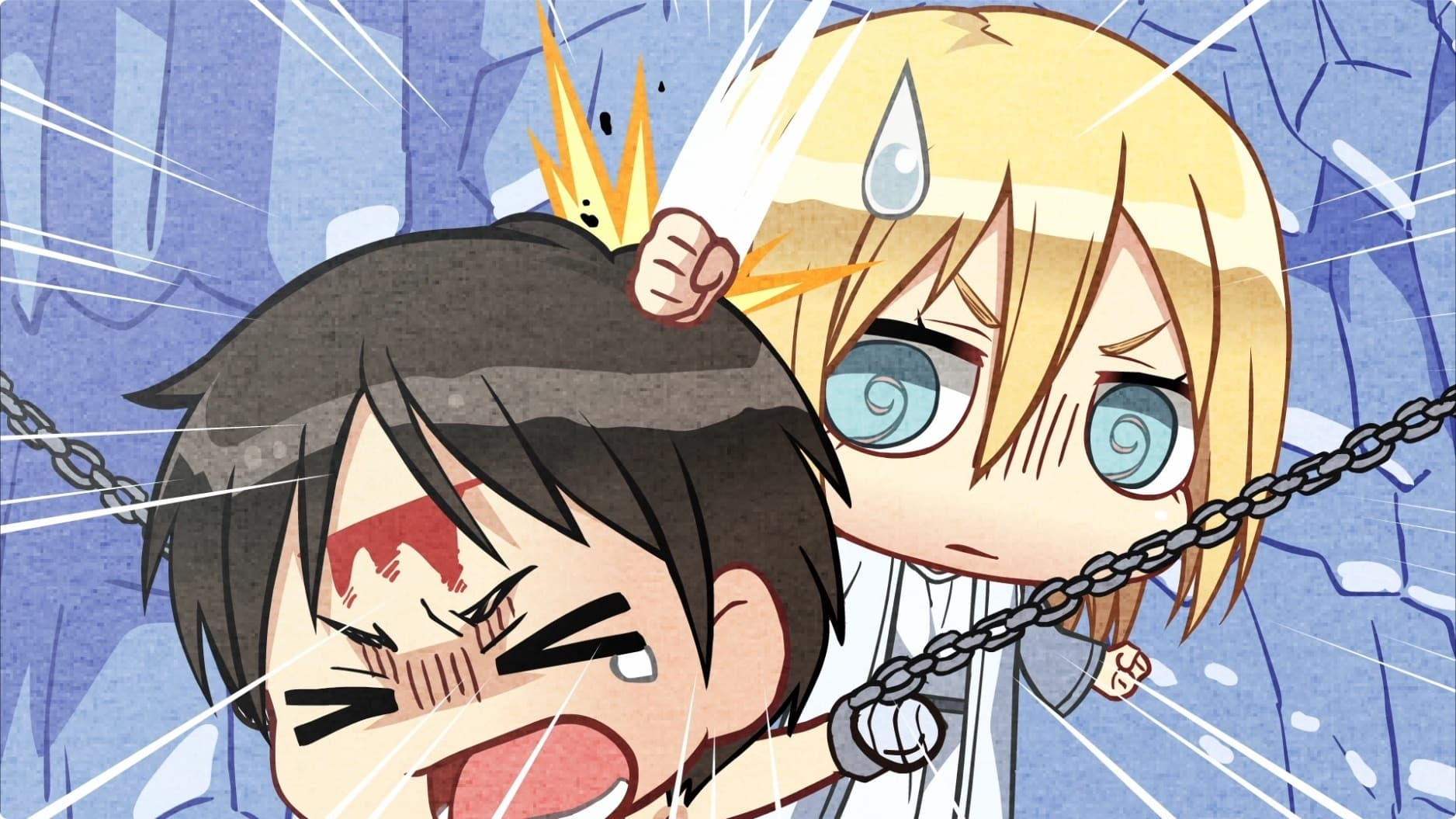 Attack on Titan Season 0 :Episode 21  Chibi Theater: Fly, New Levi Squad, Fly!: Day 44 / Day 45 / Day 46