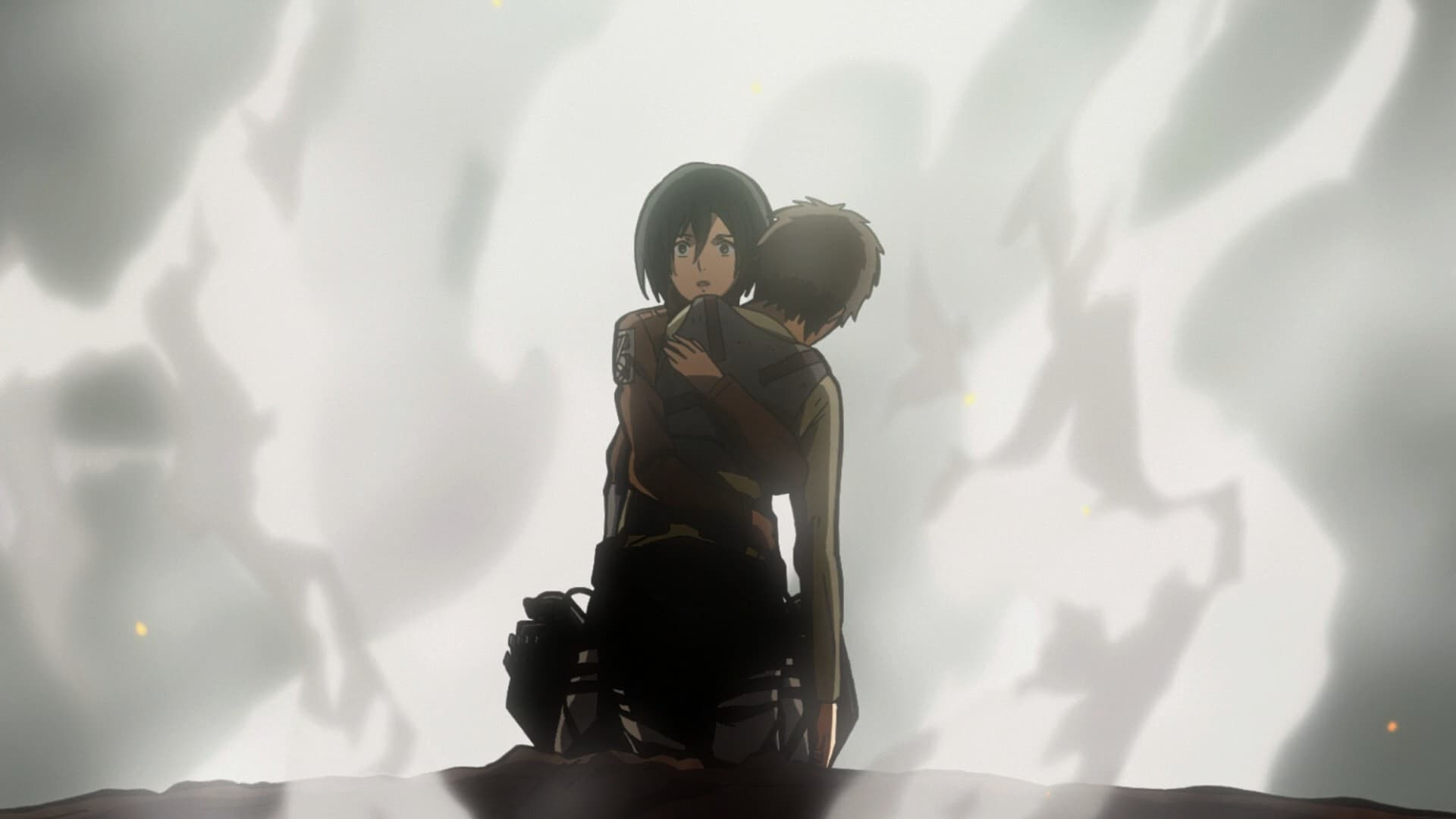 Attack on Titan Season 1 :Episode 8  I Can Hear His Heartbeat: The Struggle for Trost, Part 4