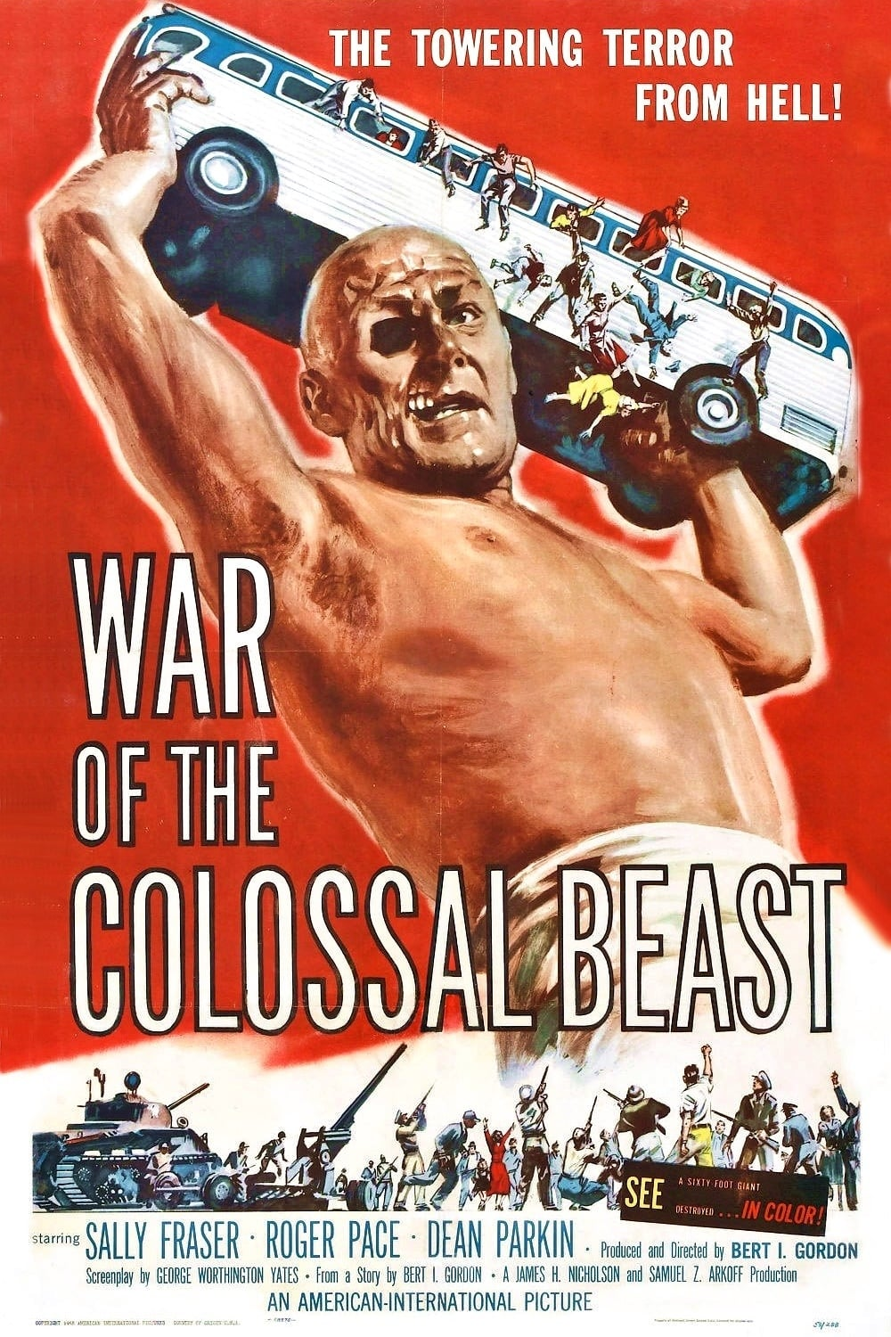 War of the Colossal Beast (1958)
