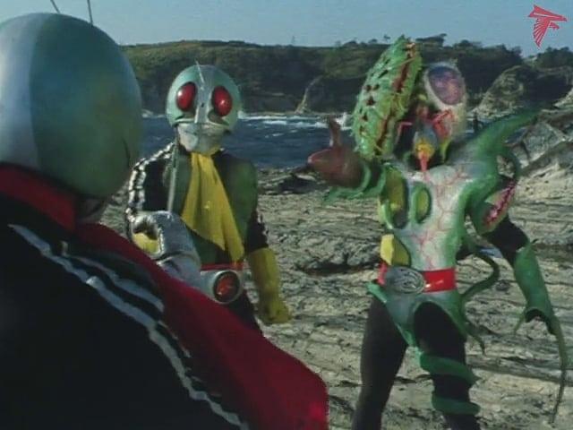 Kamen Rider Season 1 :Episode 92  Atrocity! Fake Kamen Rider!!