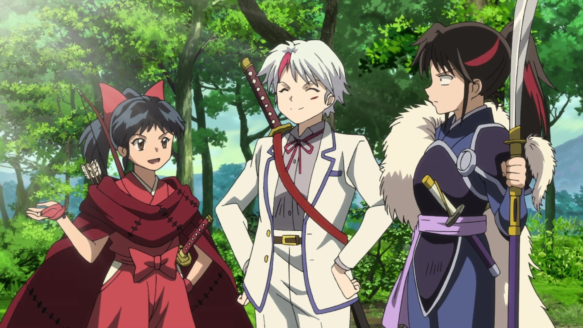 Yashahime: Princess Half-Demon Season 1 :Episode 6  The Cat Juan at the Old Temple