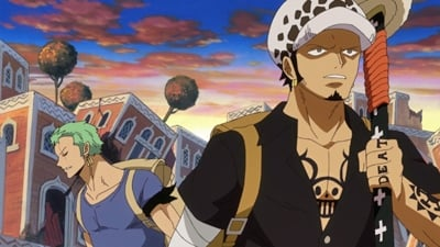 One Piece Season 18 :Episode 754  Battle Starts! Luffy vs. the Mink Tribe!
