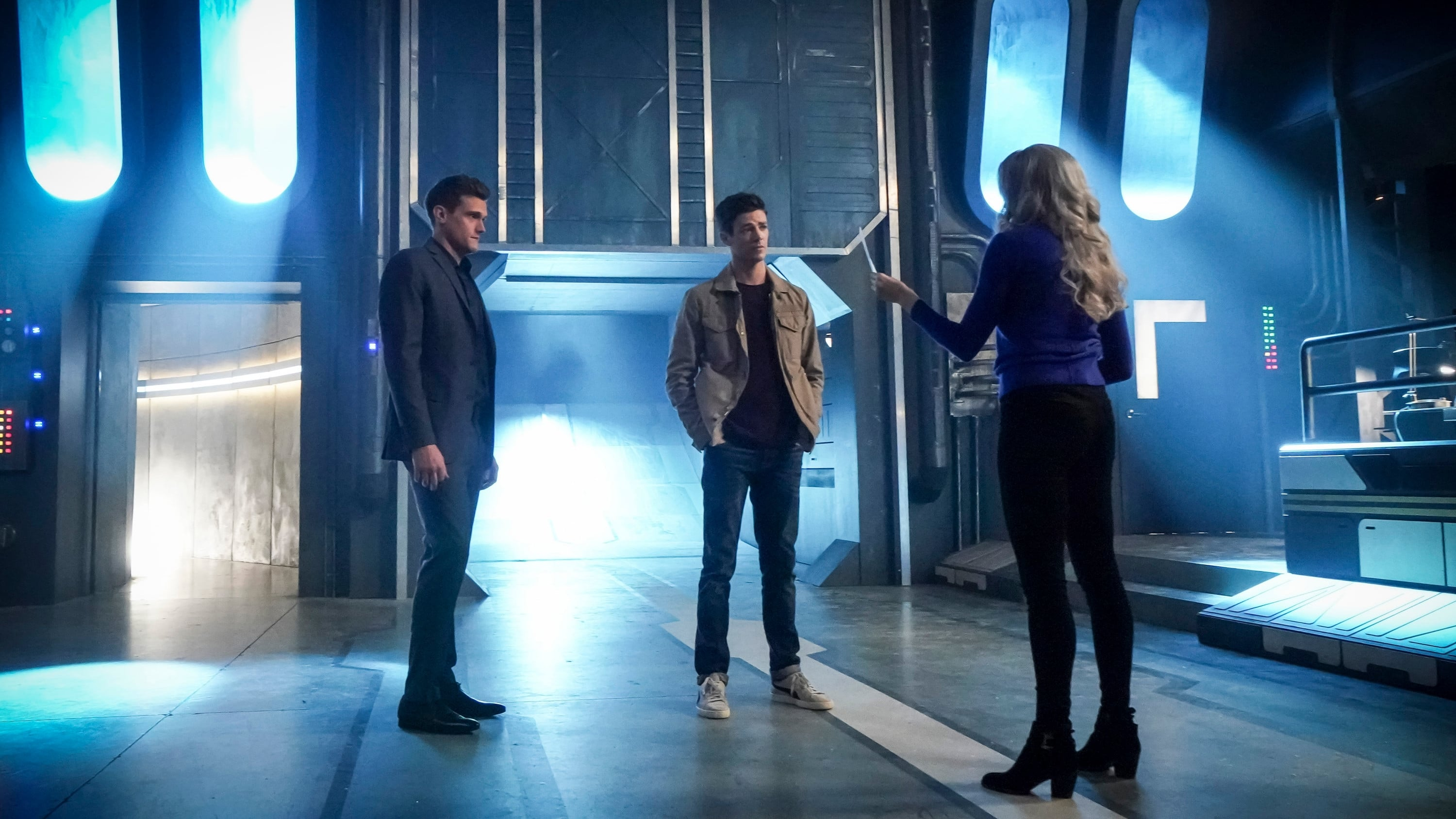 The Flash Season 5 :Episode 11  Seeing Red
