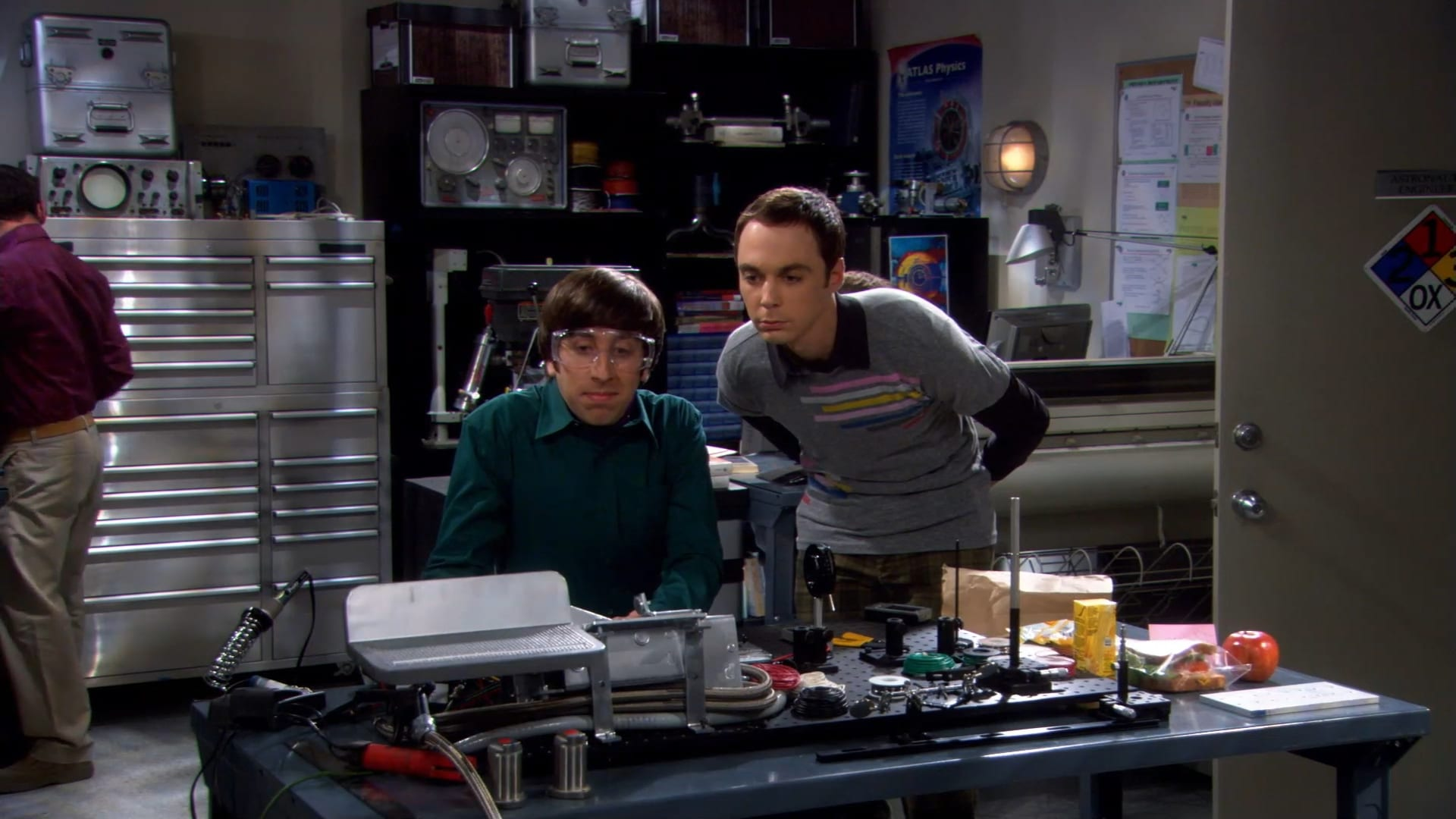 The Big Bang Theory Season 1 :Episode 12  The Jerusalem Duality