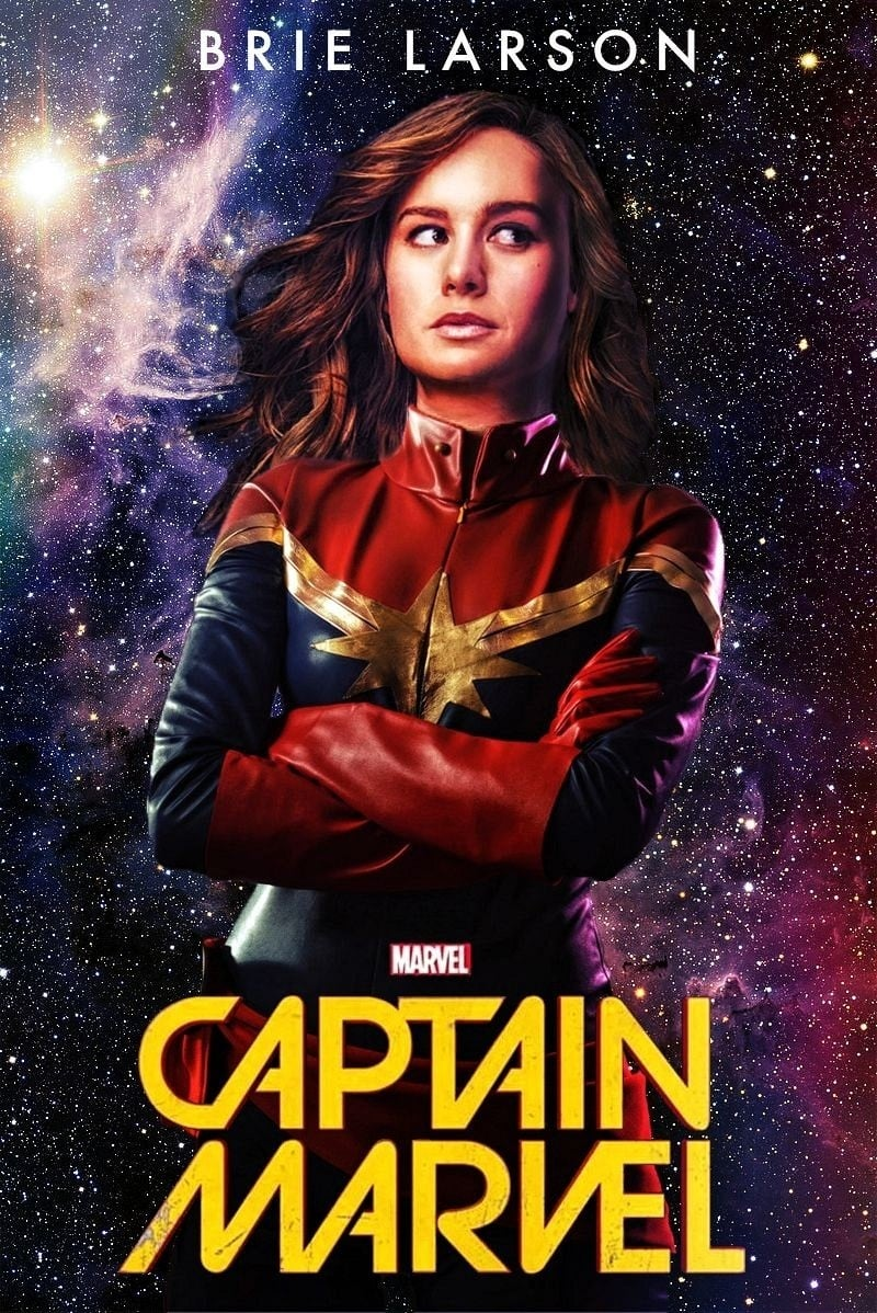 captain marvel 2019 posters the movie database tmdb. Black Bedroom Furniture Sets. Home Design Ideas