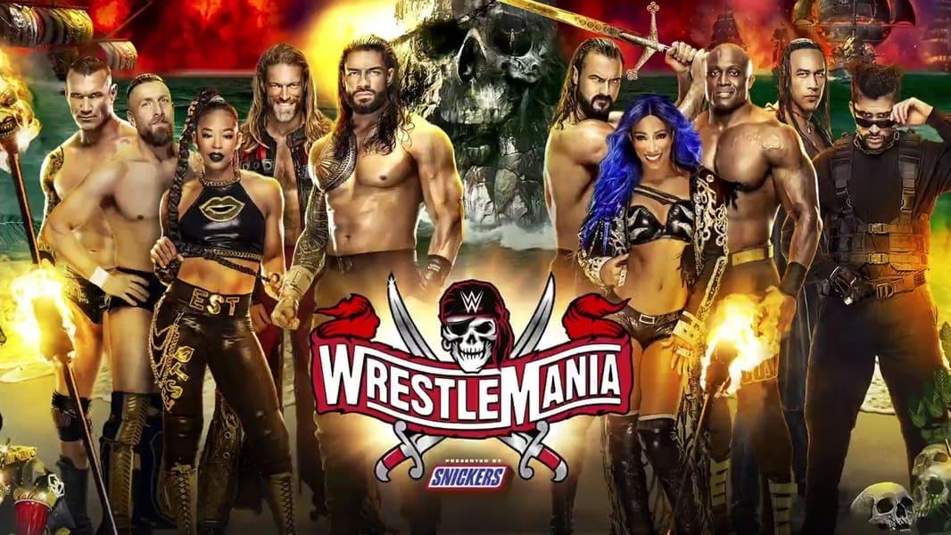 WWE WrestleMania 37 Part 1