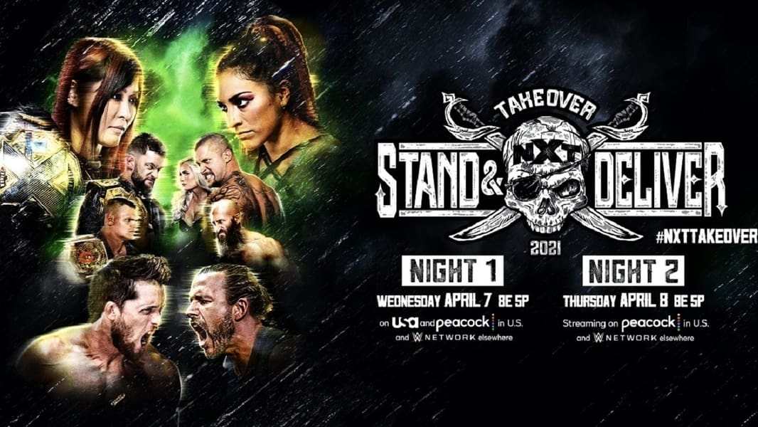 WWE NXT TakeOver: Stand & Deliver Night 2