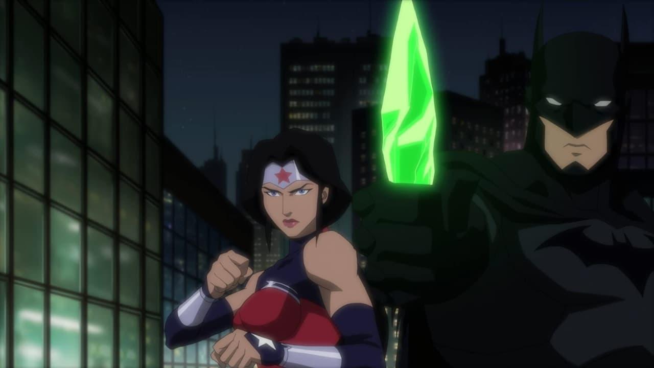 Justice League vs. Teen Titans 4