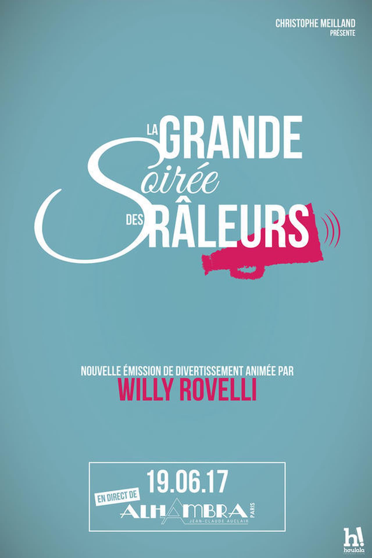 Willy Rovelli et la grande soirée des râleurs