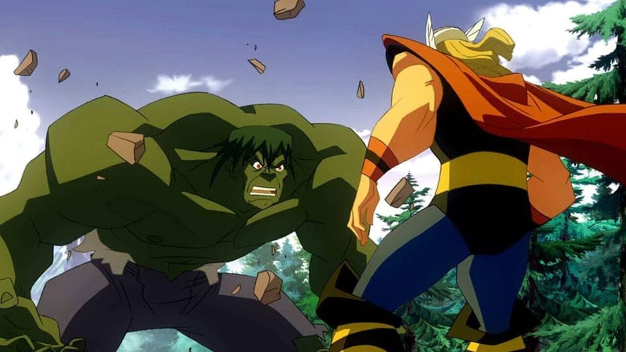 Wallpaper Filme Hulk vs. Thor