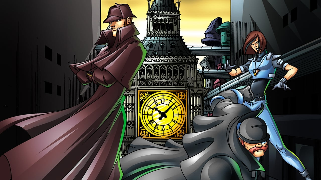 cover-Sherlock Holmes in the 22nd Century