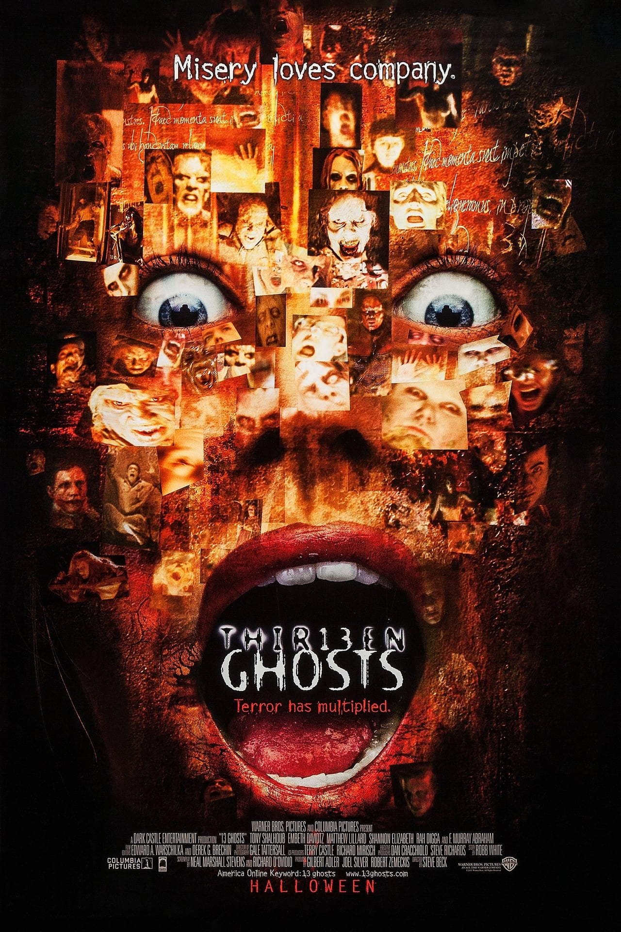 Thir13en Ghosts   2001   Hindi + English   1080p   720p   BluRay