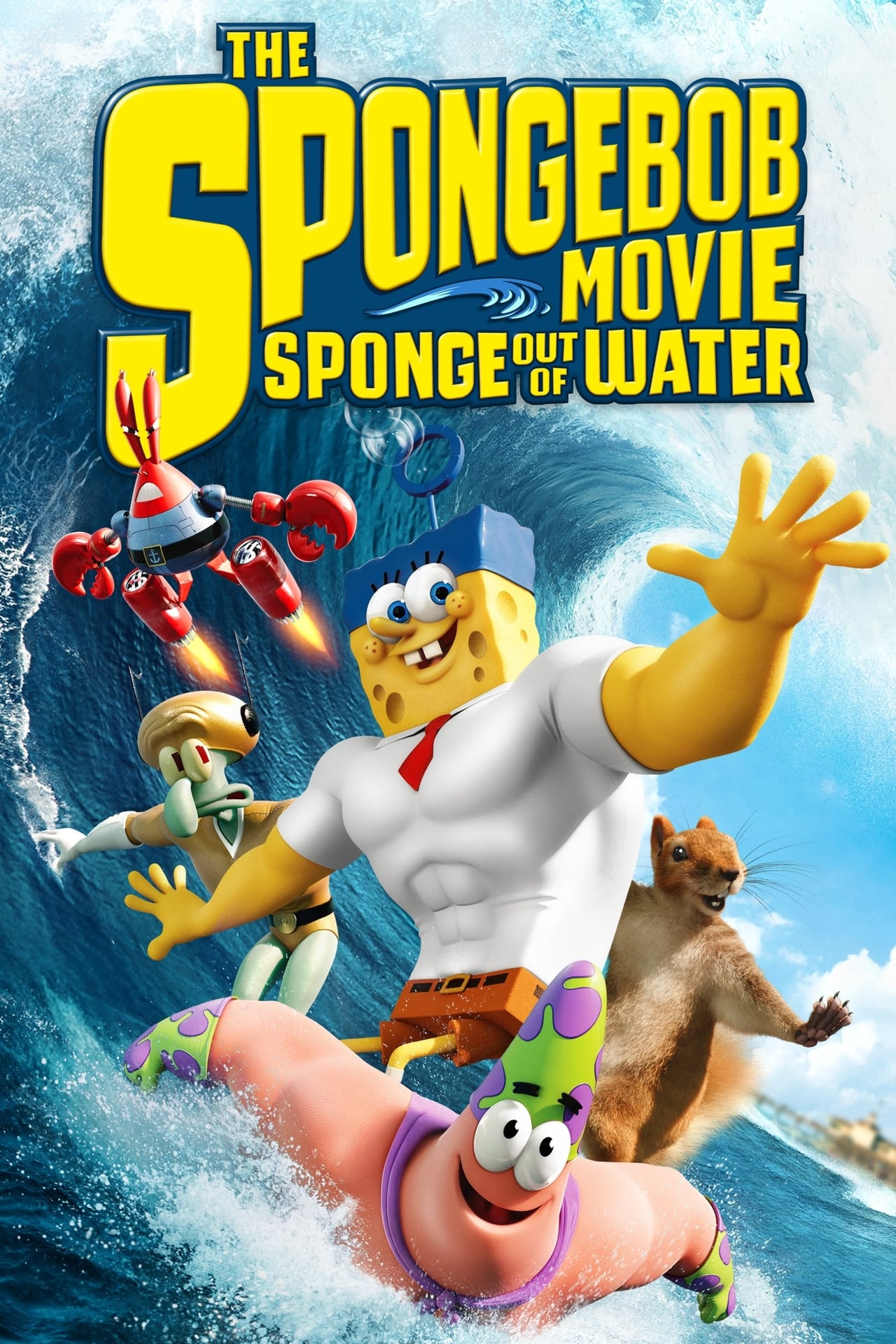 Download The SpongeBob Movie: Sponge Out of Water (2015) Dual Audio [Hindi-English] 480p [400MB] | 720p [800MB]