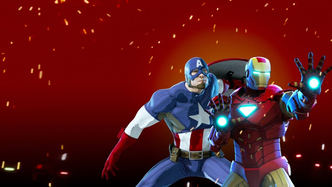 Iron Man & Captain America: Heroes United 1