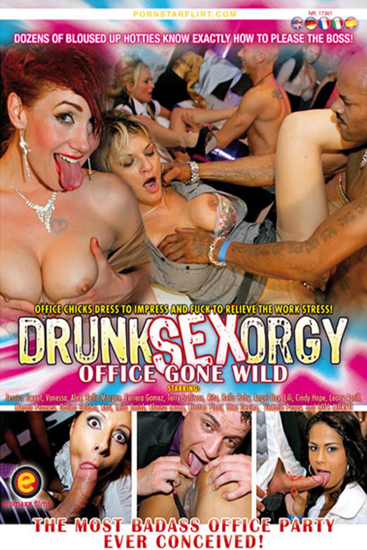 Drunk Sex Orgy: Office Gone Wild