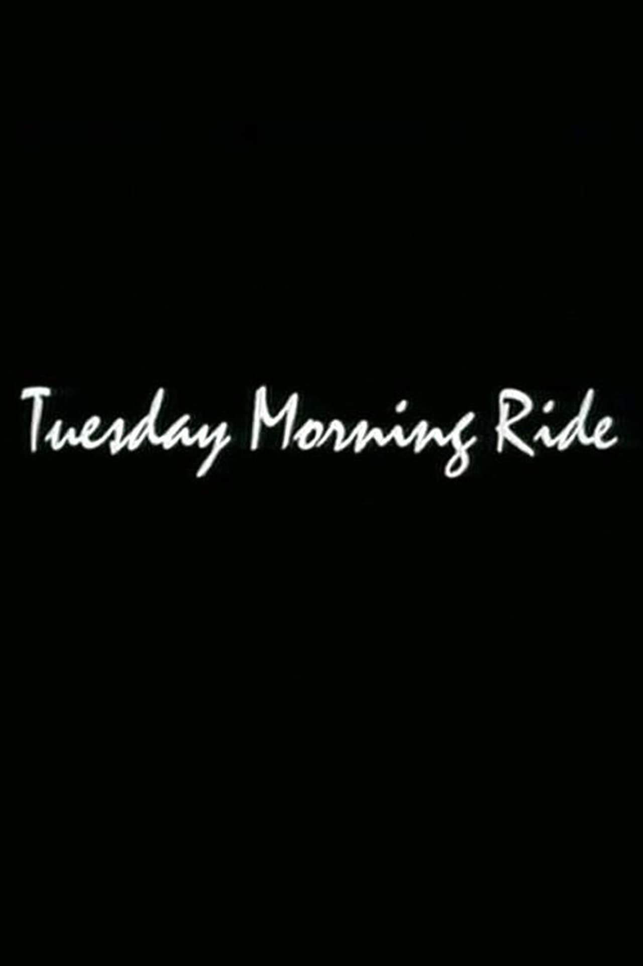 Tuesday Morning Ride