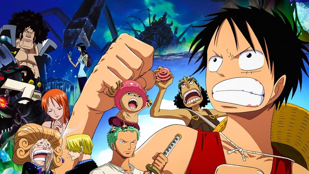 cover-One Piece Película 07: El Soldado Mecha Gigante Del Castillo Karakuri