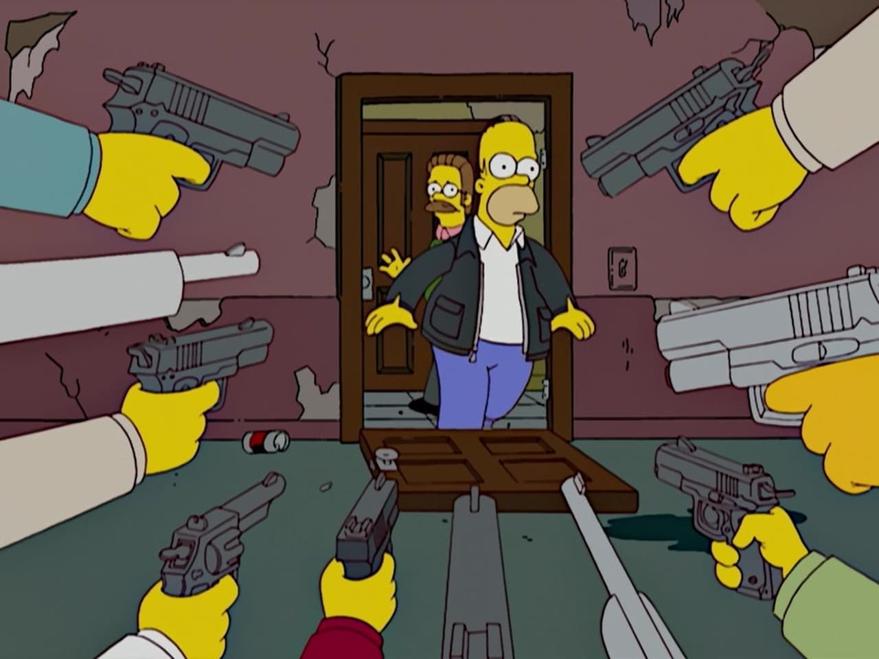 The Simpsons - Season 20 Episode 1 : Sex, Pies and Idiot Scrapes
