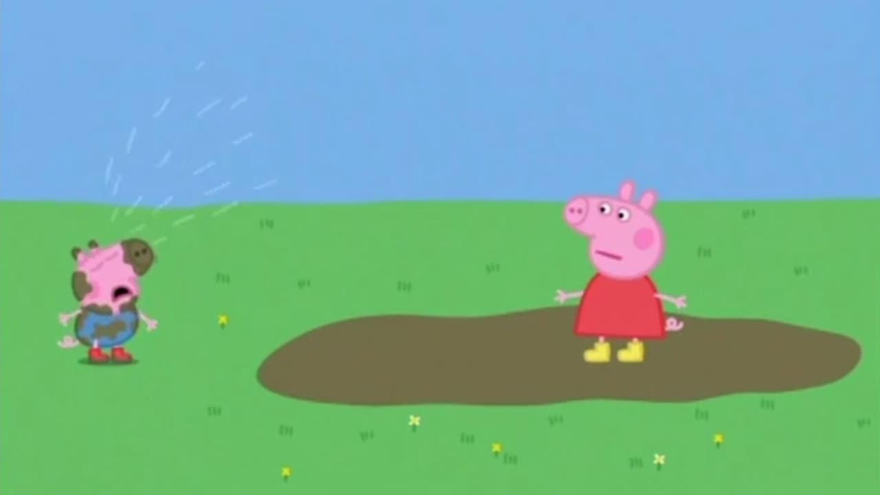 Peppa Pig - Season 1 Episode 1 : Muddy Puddles (2020)