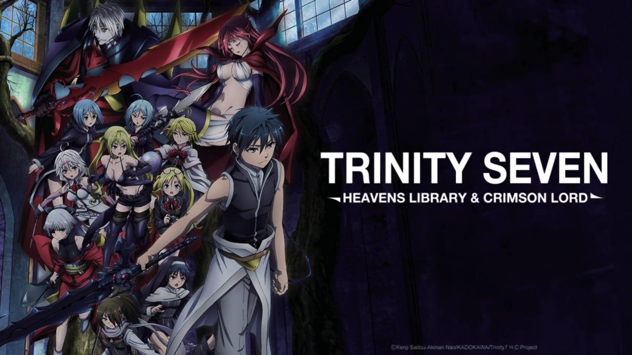 Trinity Seven 2: Heaven's Library & Crimson Lord 2