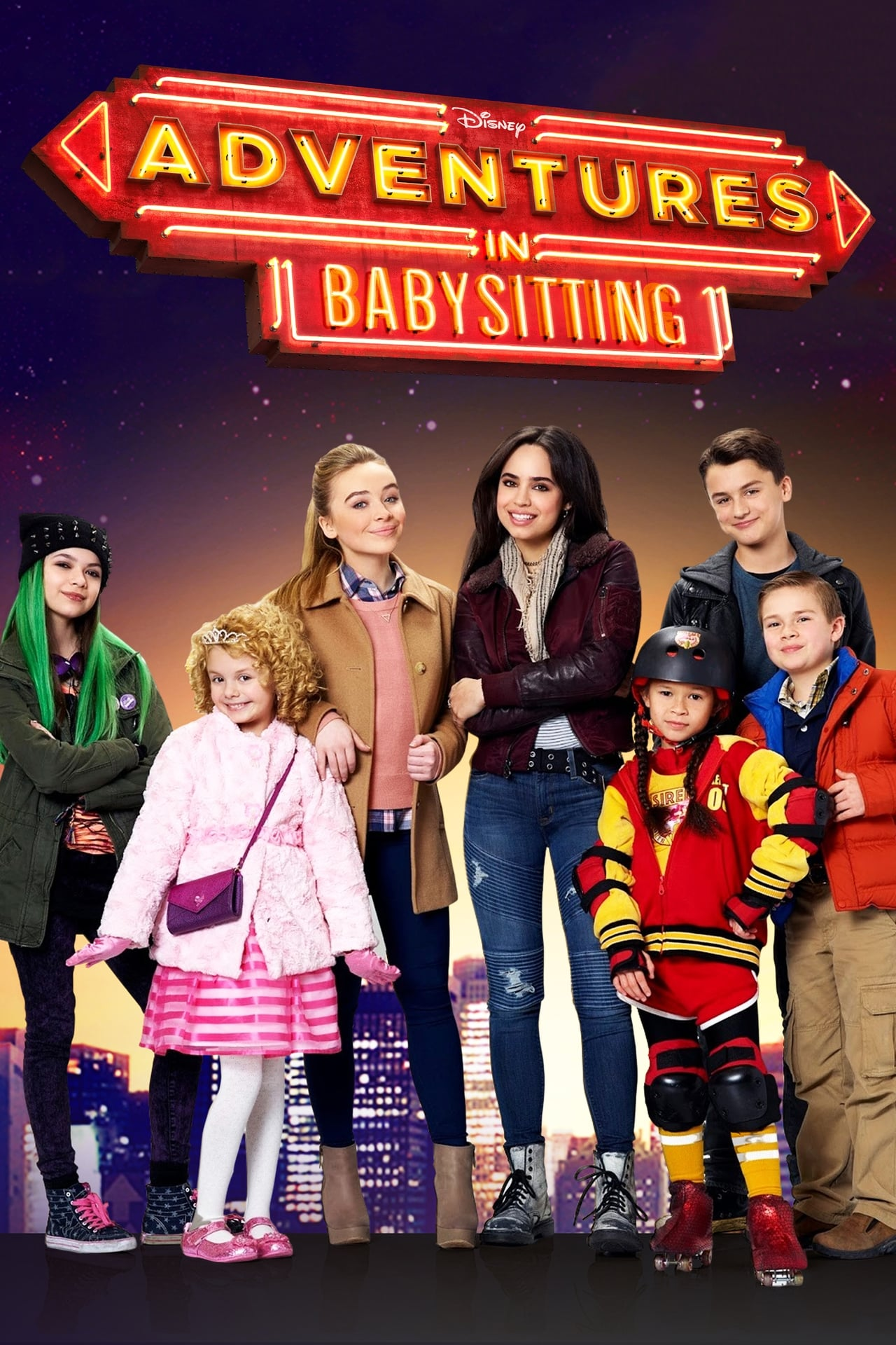 Full Free Watch Adventures in Babysitting (2016) Online Movies at film.movieonrails.com