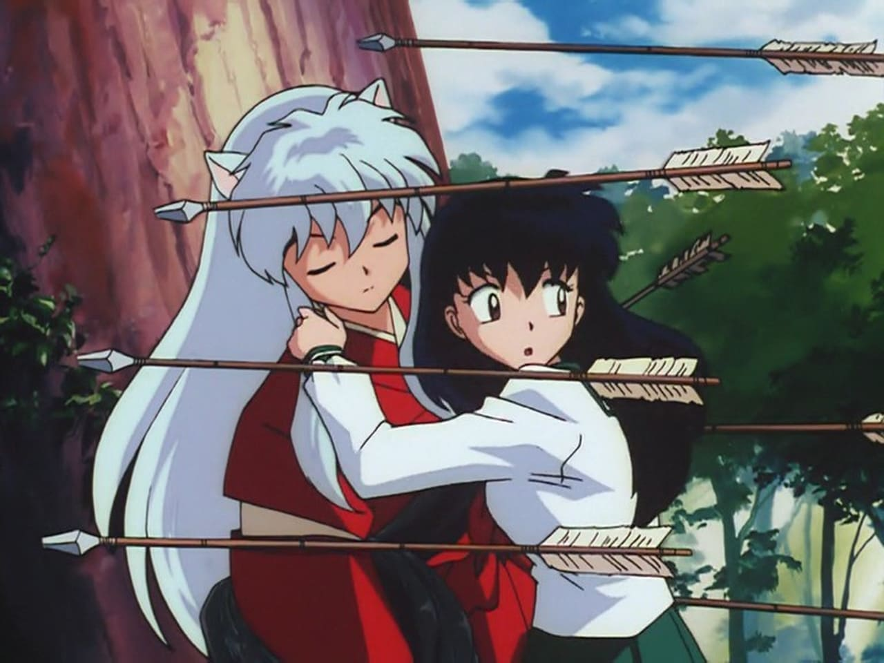 InuYasha - Season 1 Episode 1 : The Girl Who Overcame Time... and the Boy Who Was Just Overcome (2010)