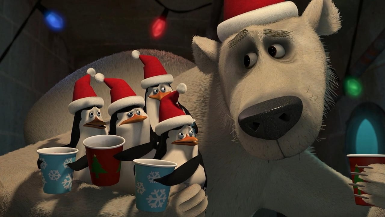 The Madagascar Penguins in a Christmas Caper 1