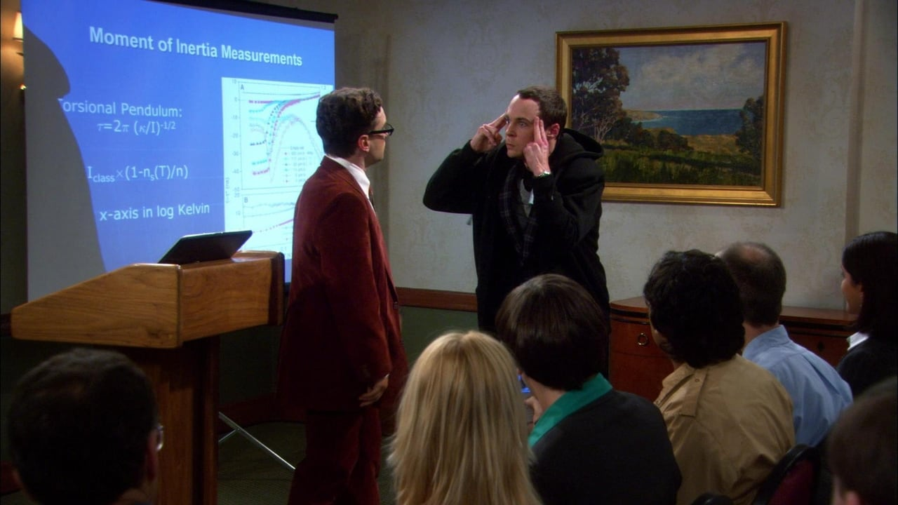 The Big Bang Theory - Season 1 Episode 9 : The Cooper-Hofstadter Polarization
