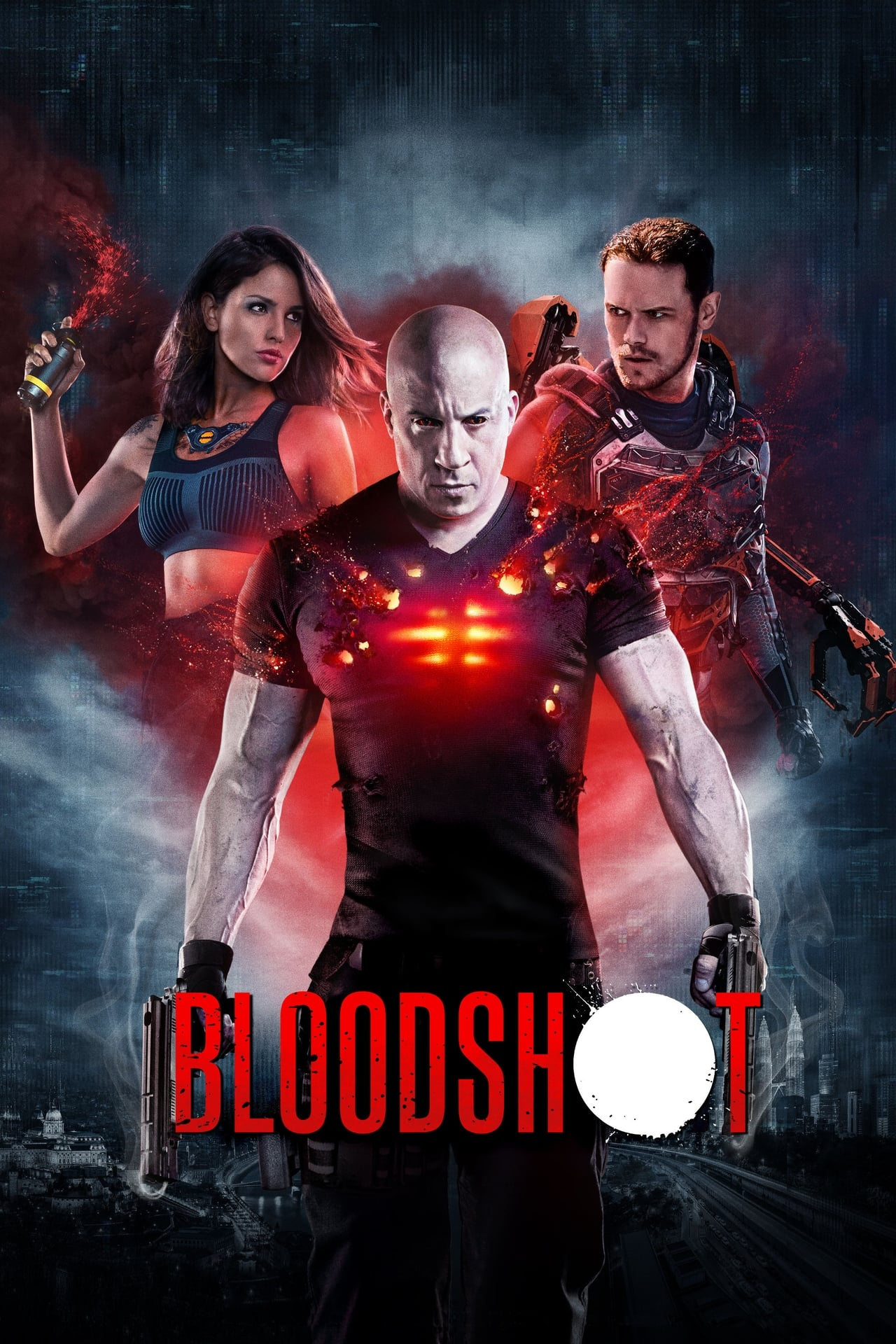 Download Bloodshot (2020) Dual Audio [Hindi-English] BluRay 480p [400MB] | 720p [1.2GB] | 1080p [3.1GB]