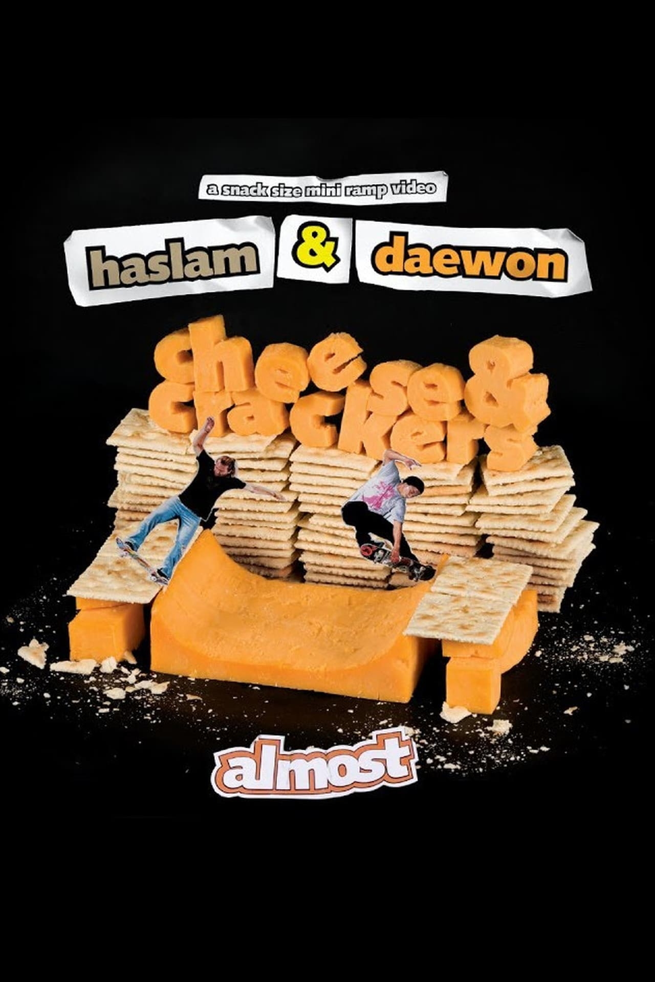 Almost Skateboards - Cheese & Crackers