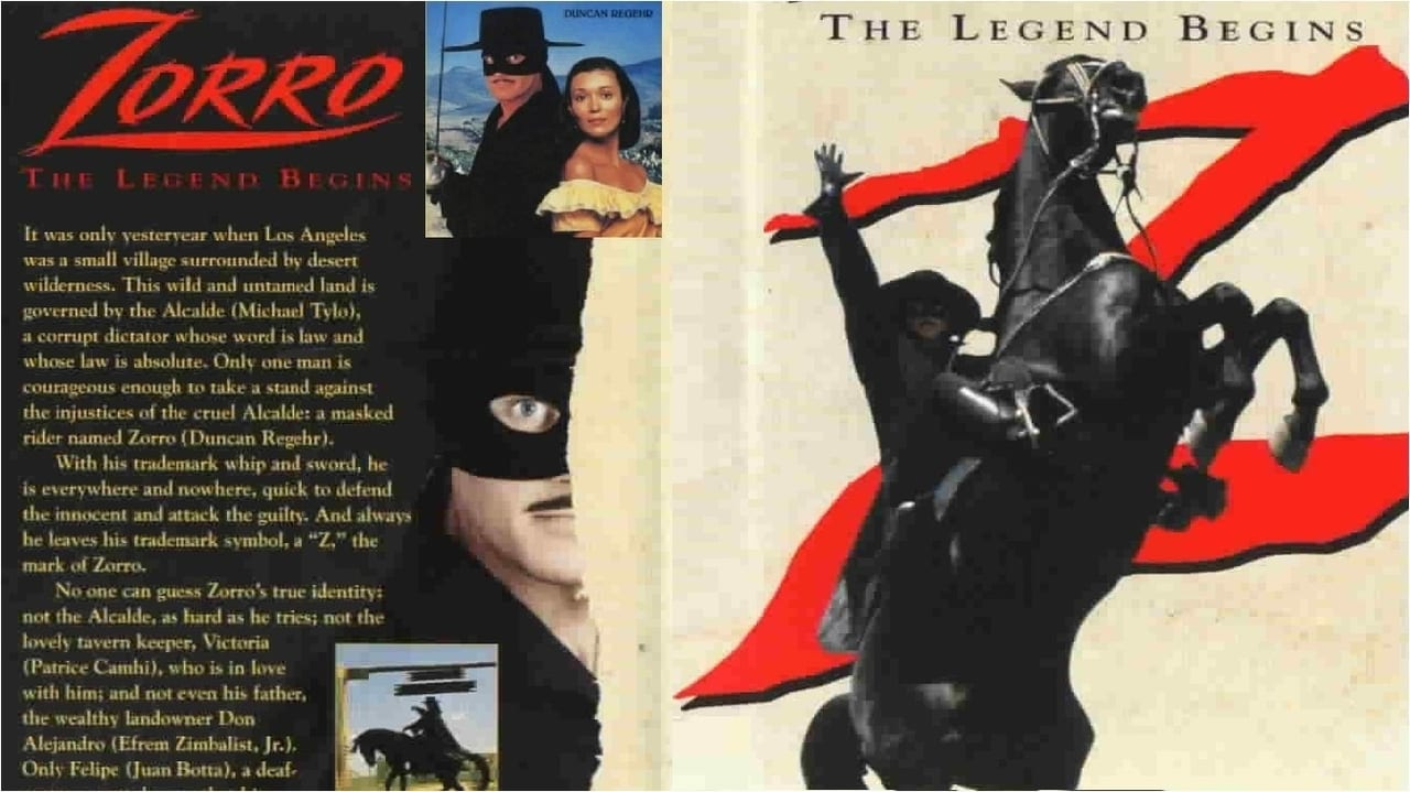 Zorro the legend begins