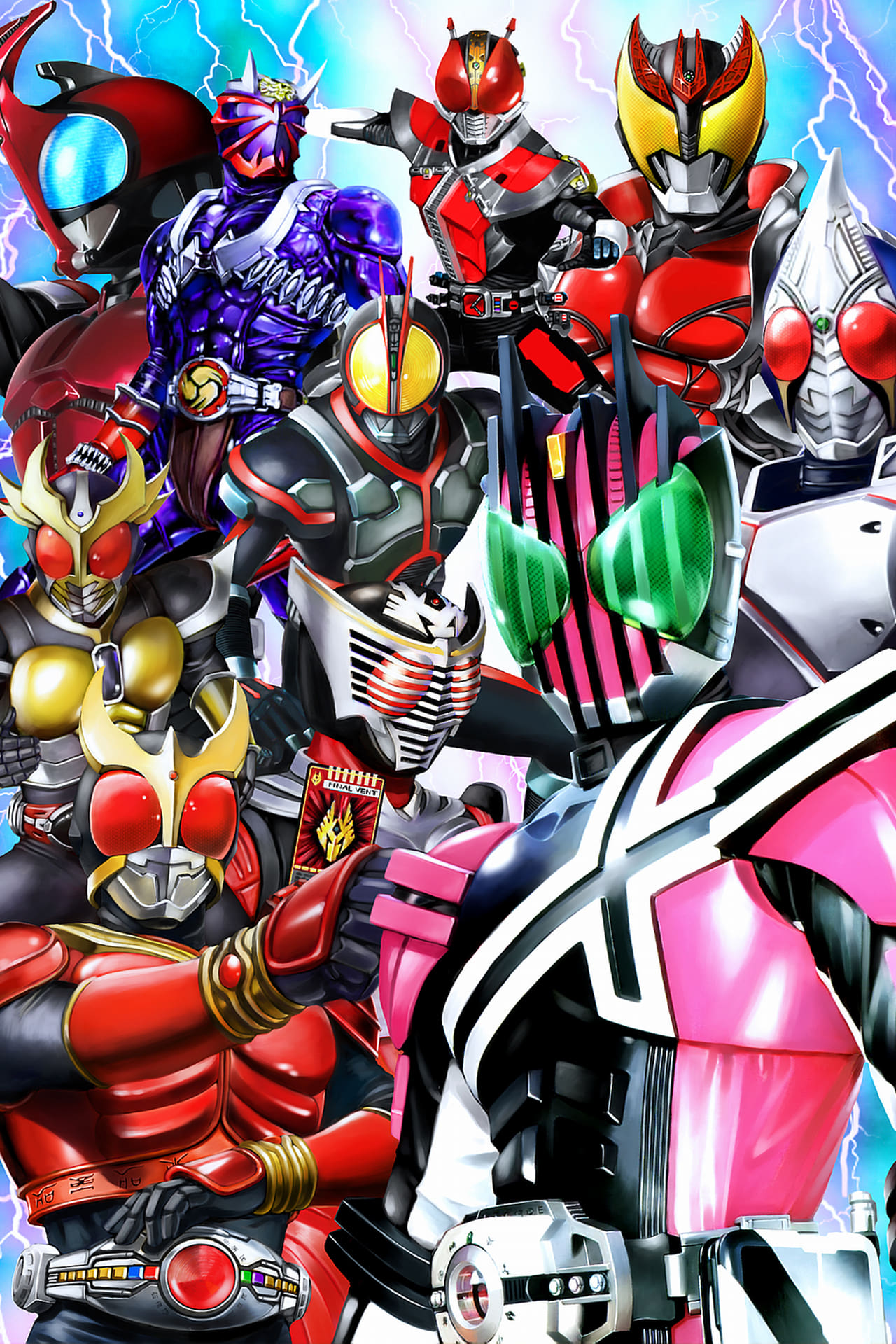 Kamen Rider Season 27 Episode 21 : Chase the Mystery!