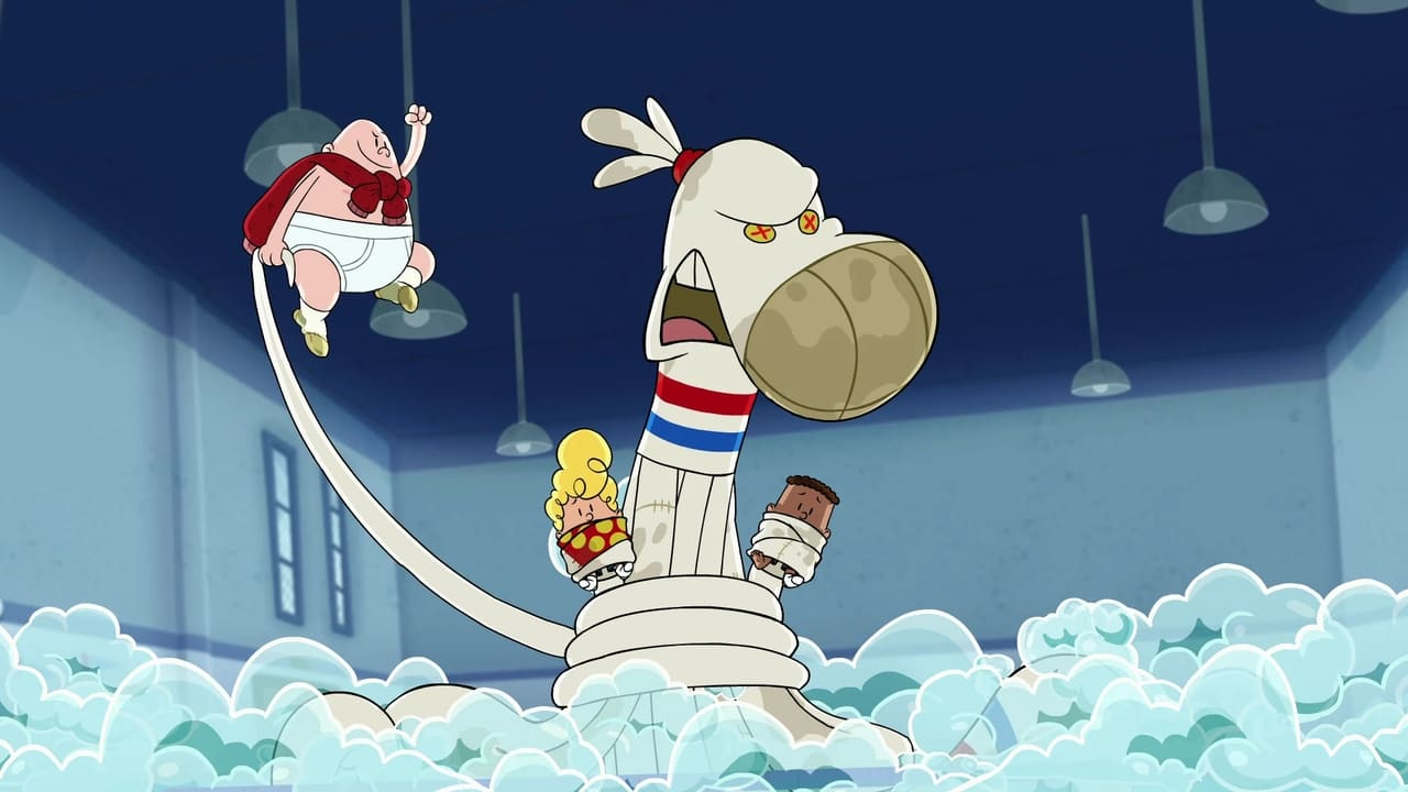 Captain Underpants and the Strange Strife of the Smelly Socktopus